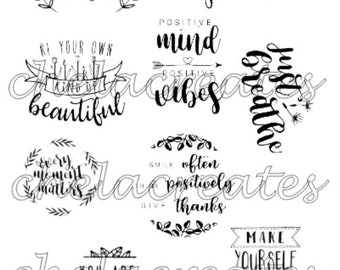 Just Breathe Quotes Printable