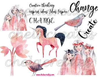 Create Change PRINTABLE