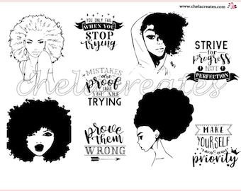 Strive for Progress...Print and Cut