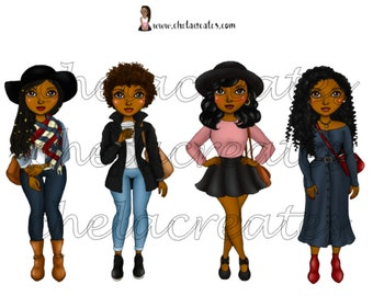 Fall Girls Large ds....Printable