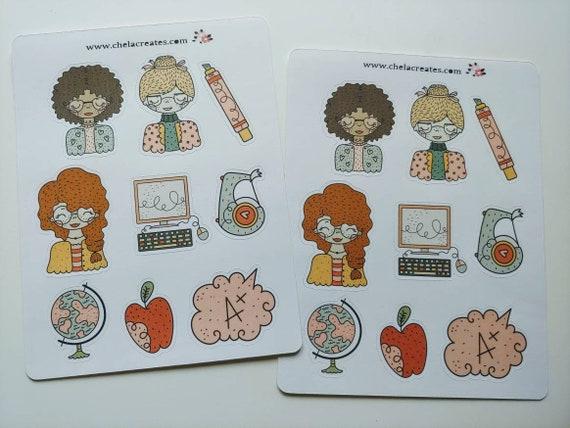 A+ Teacher Mini Sticker Sheet