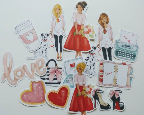Loving You Loving  Life Die Cut Stickers