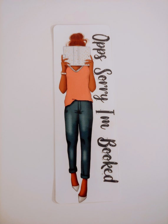 Opps I'm Booked...Bookmarker