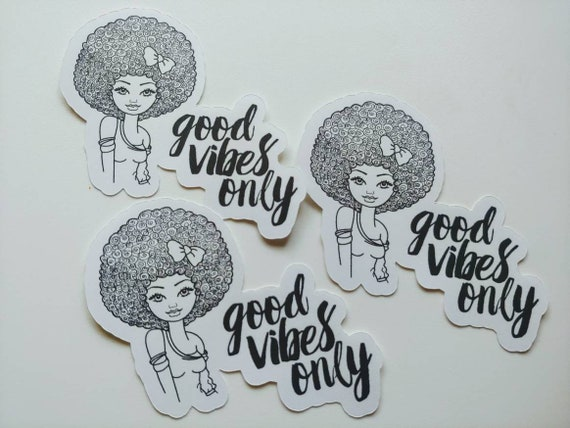 Good Vibes Only Die Cut Sticker