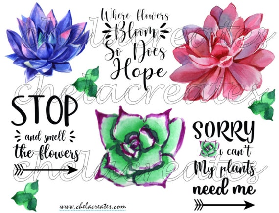 Where Flowers Bloom so does Hope Printable