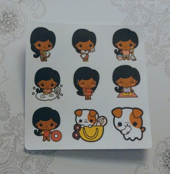 Kawaii Cutie Sticker sheet