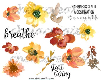 Fall Happiness Flowers