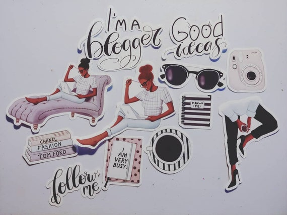 Im a Blogger...Clear Sticker