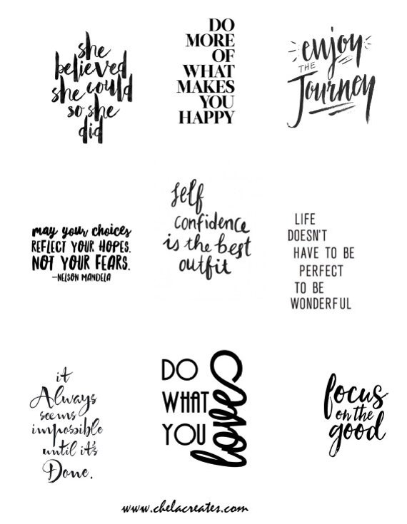 Do What You love...Printable