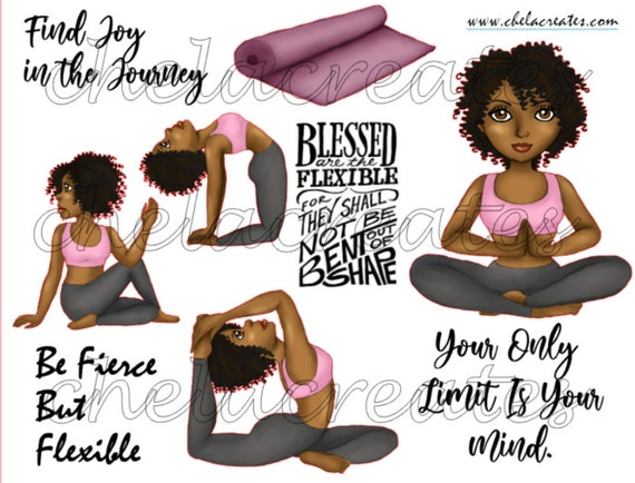Be Fierce Flexible PRINTABLE