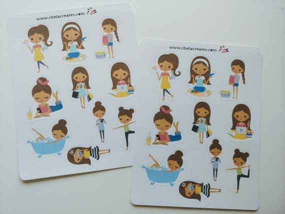 Candie Planning Life Mini Sticker Sheet