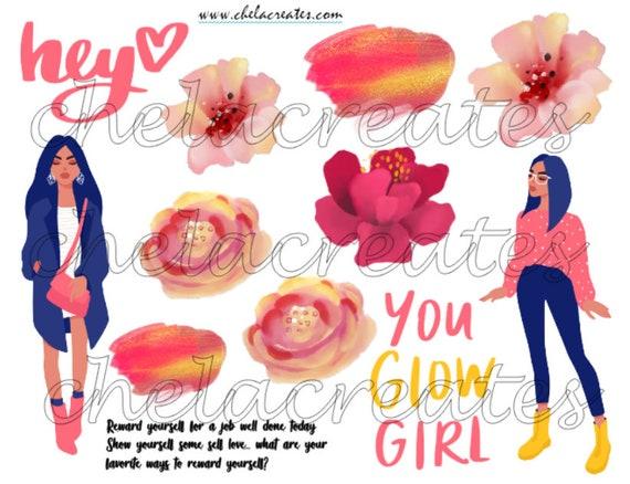 Hey You Glow Girl