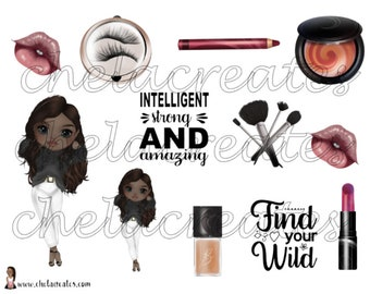 Be wild and cute...Printable Journaling Stickers FREE Journal Prompts
