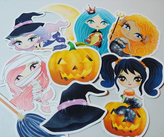 Spooky Mermaids Die Cuts