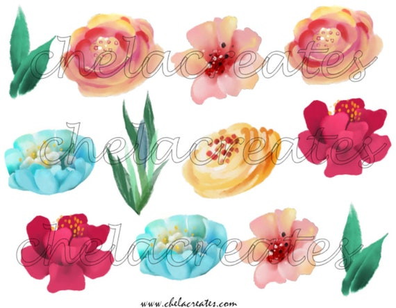 Colorful Art Elements Printable