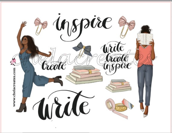 Write and Inspire....print and cut