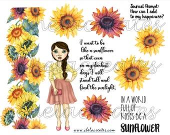 Be a Sunflower LS