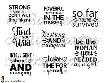 Strong and Courage's Printable Quotes