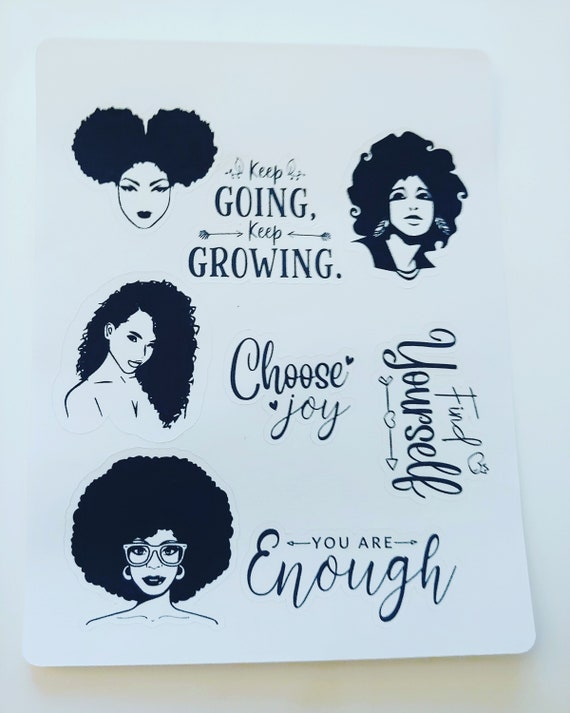You are ENOUGH mini sticker set