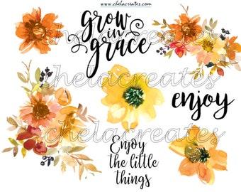 Enjoy Fall Flowers