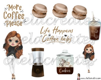 Life Happens and FREE JOURNAL PROMPTS...Printable Journal stickers with Journal Prompts