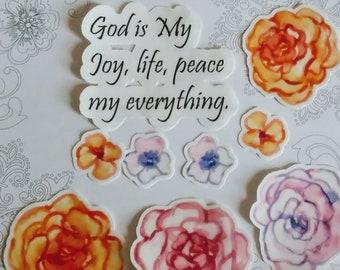 Joy, life, peace