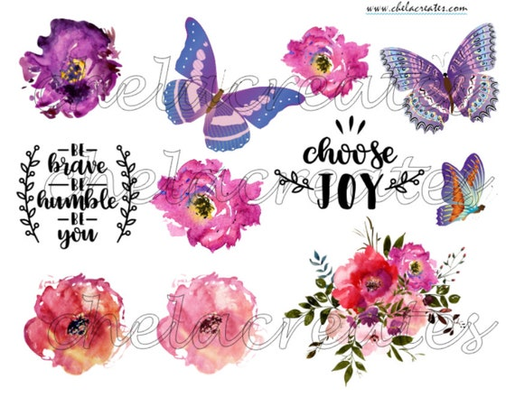 Choose Joy Butterfly Printable