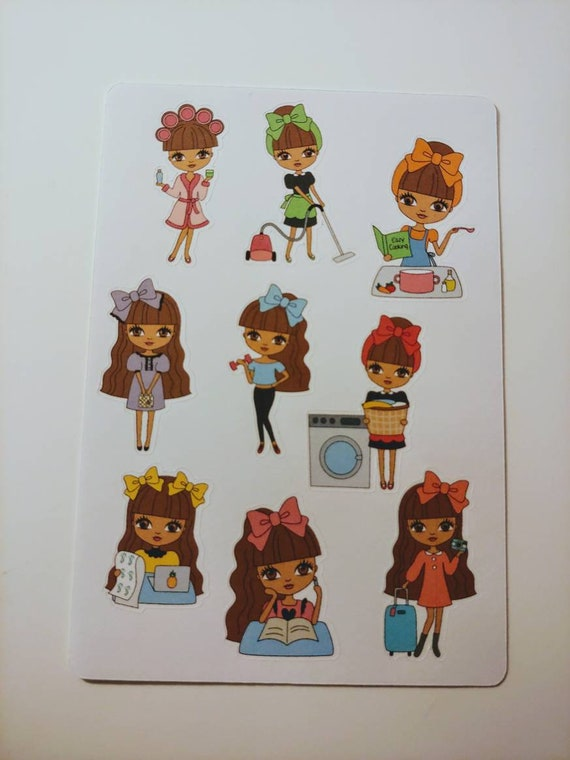 Busy Cutie Mini Sticker Sheet