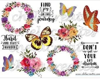 Joy In the Journey Butterfly