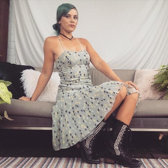 Silk Slip Dress Silk Chiffon Dress 90s slip Dress
