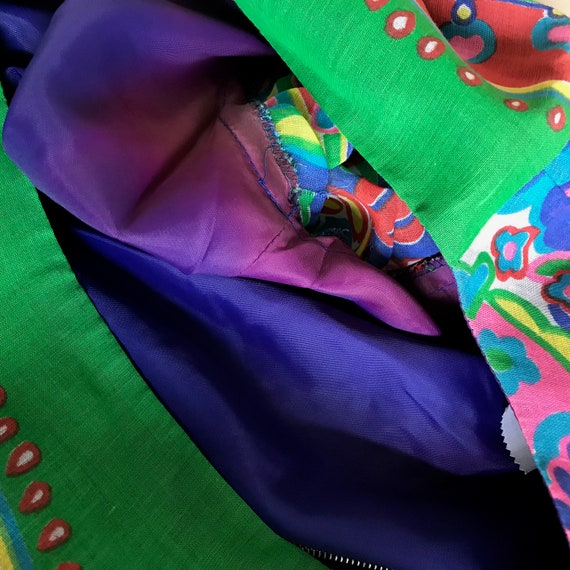 Boho Gown 60's Gown Vintage Maxi Dress - image 5
