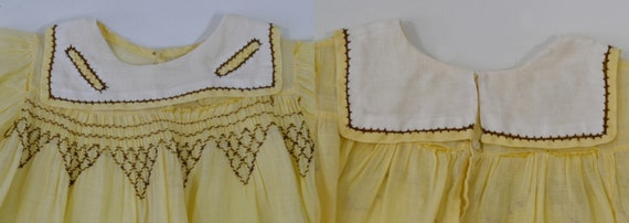 Vintage Lot of Infant and Toddler Nightgowns/Slip… - image 10