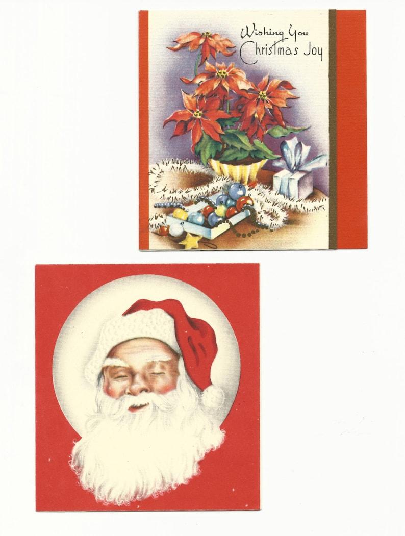 Vintage Christmas/Holiday Greeting Cards Joyous Celebration image 0
