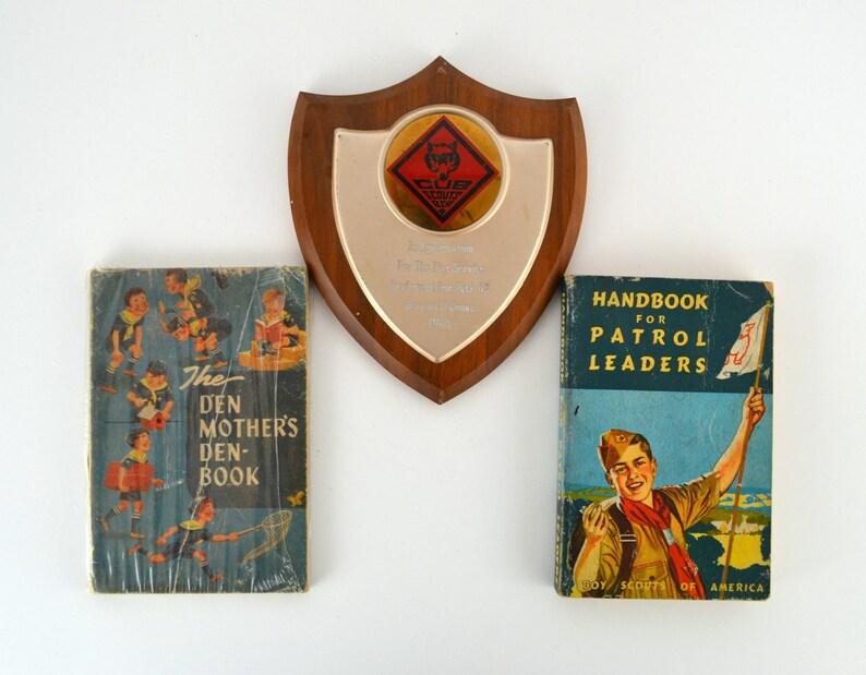 Vintage Boy Scout Handbook for Patrol Leaders Den image 0