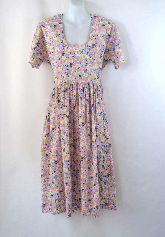 1950s/1960s  Pink, Purple, Yellow, Blue and Gray F