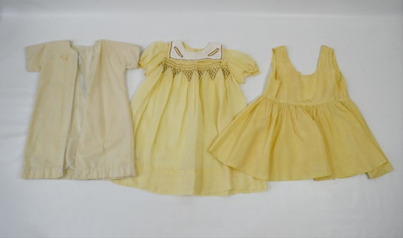Vintage Lot of Infant and Toddler Nightgowns/Slip… - image 3