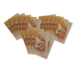 Vintage Wedding Gift Thank You Cards by Rust Craft, Lot of 15 Unused Cards