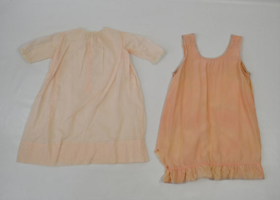 Vintage Lot of Infant and Toddler Nightgowns/Slip… - image 5