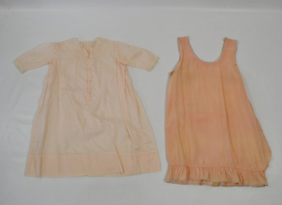 Vintage Lot of Infant and Toddler Nightgowns/Slip… - image 6