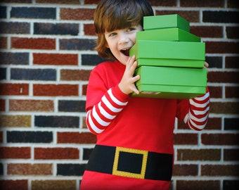 Santas Little Helper kids tshirt