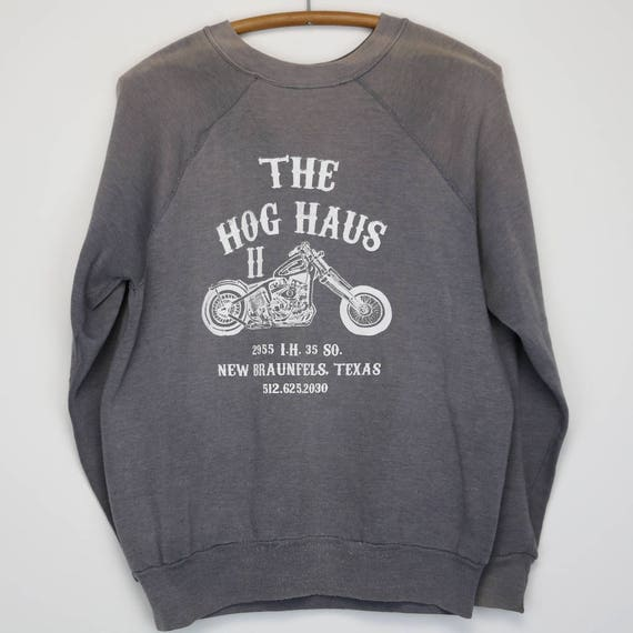 Harley Davidson Sweater Vintage Sweatshirt 1980s The Hog Haus Etsy