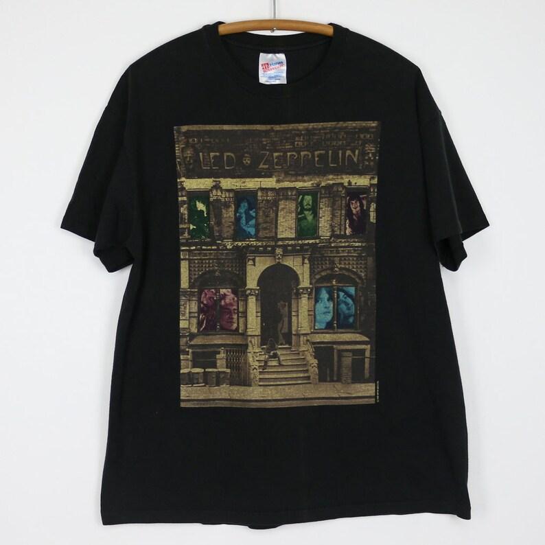 664645bb Led Zeppelin Shirt Vintage tshirt 1986 Physical Graffiti Tee | Etsy