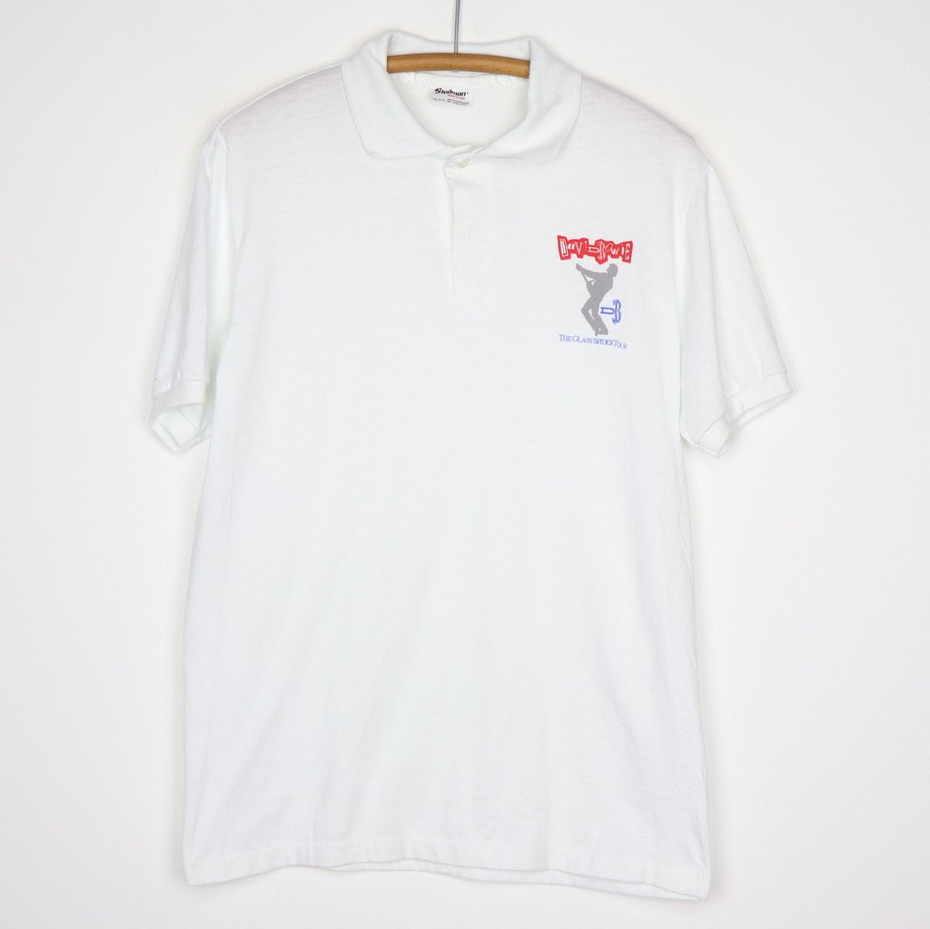 80s Tops, Shirts, T-shirts, Blouse   90s T-shirts David Bowie Polo Shirt Vintage Tshirt 1987 The Glass Spider North American Tour Concert Tee 1980S Pop New Wave Music Rock  Roll Band $125.00 AT vintagedancer.com