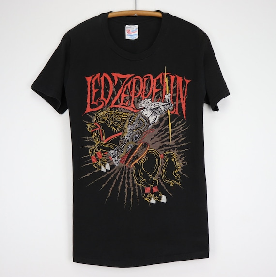 vintage 1990s Led Zeppelin Battle Of Evermore Shir