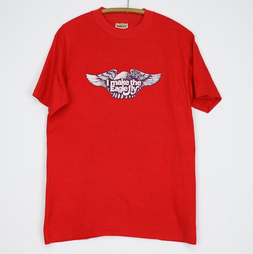 80s Tops, Shirts, T-shirts, Blouse   90s T-shirts Harley Davidson Shirt Vintage Tshirt 1980S I Make The Eagle Fly York Pennsylvania Tee Motorcycle Biker Memorabilia $120.00 AT vintagedancer.com