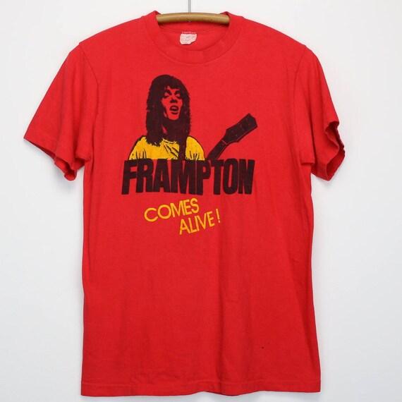 Shirt 1976 Frampton Peter Comes Tshirt AliveEtsy Vintage UzGqpSMLV
