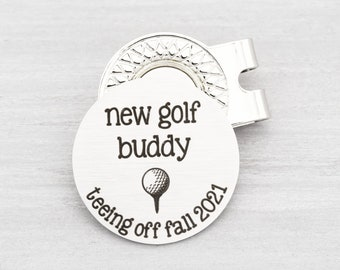 Personalized Golf Ball Marker - Golfing Gift for Dad - Baby Announcement for New Dad - Personalized Golf Gift for Men - Fathers Day Gift