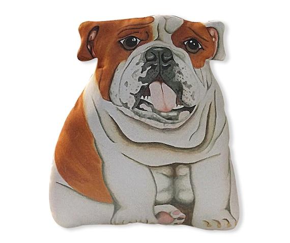 English Bulldog Stuffed Animal Large Stuffed Bulldog Etsy