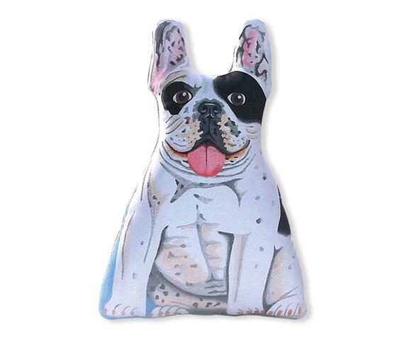 French Bulldog Stuffed Animal Black And White Stuffed Etsy