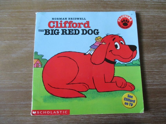Clifford The Big Red Dog By Norman Bridwell 1985 Scholastic Etsy